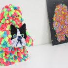 【取材】モールアーティストのフジサキタクマさんに、フレンチブルドッグを作ってもらいました!〜超貴重な制作風景動画もありますよ〜