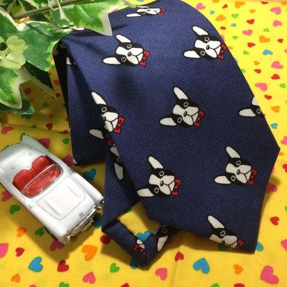 フレンチブルドッグ ネクタイ