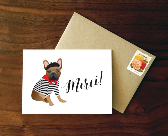 フレンチブルドッグ カード