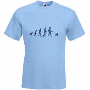 Evolution To French Bulldog t-shirt