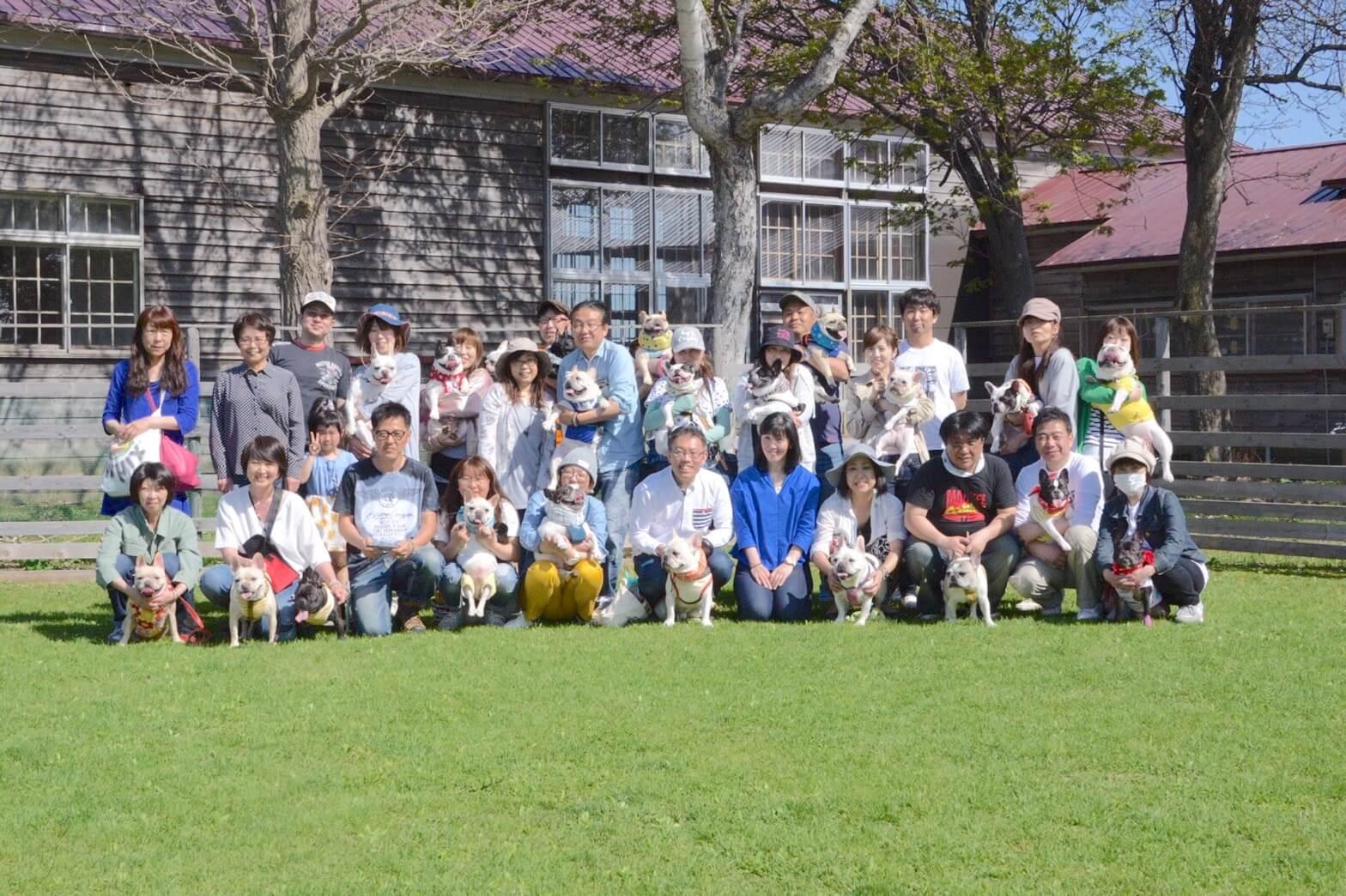 フレンチブルドッグ北海道オフ会