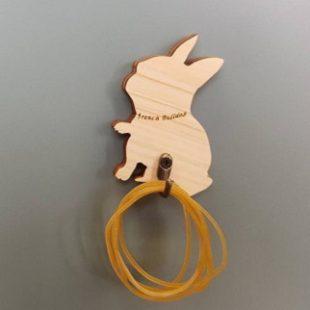 フレンチブルドッグ雑貨【自社オリジナル商品】輪ゴム掛け
