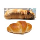 フレンチブルドッグとパンの画像を交互に貼っていく(だけ)